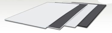BLACK & WHITE CARD (FOAM CORE) 1.20 X 2.40 m