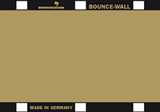 BOUNCE WALL reflecteur or/blanc
